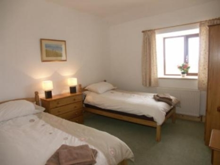 Bedroom at Cae Clyd Cottage
