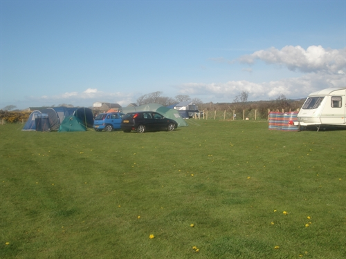 Cae Clyd camping