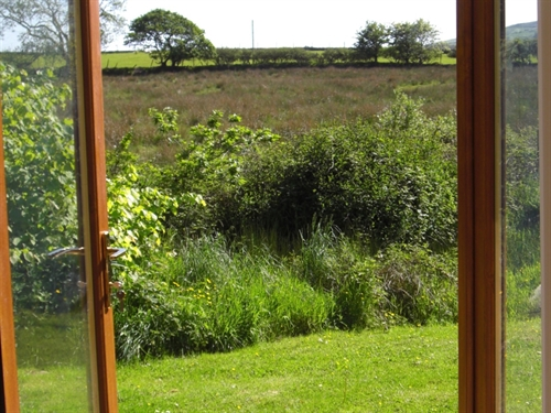 View from Graianog Farmhouse Annexe